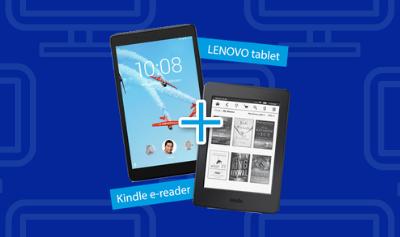tablet of e-reader