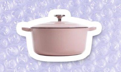 Win een roze braadpan