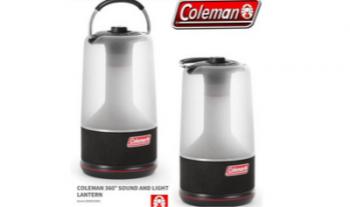 Win een Coleman lantaarn en speaker