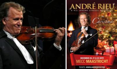 Win 2 tickets voor het kerstconcert André Rieu
