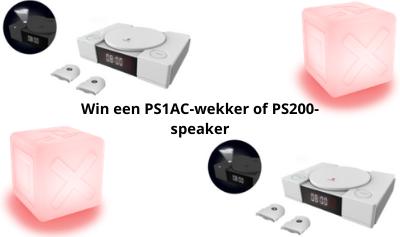 Win een wekker of speaker