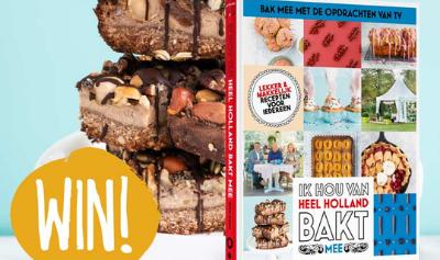 Win het kookboek 'Heel Holland Bakt'