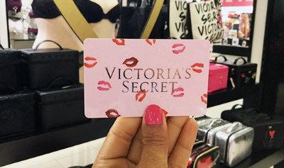 Victoria's Secret giftcard